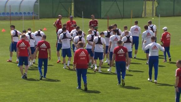 Русия с първа тренировка в Австрия преди световното