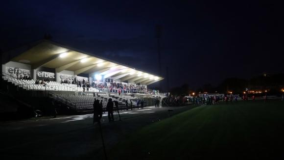 "Осветлението на ""Лаута"" изгасна по време на баража между Локо (Сф) и Витоша"