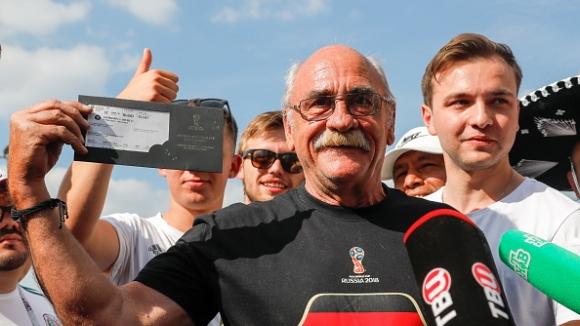 Фен на Германия пристигна в Русия с трактор