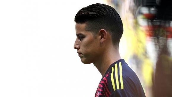 Хамес и Бака извън титулярите на Колумбия за мача с Япония