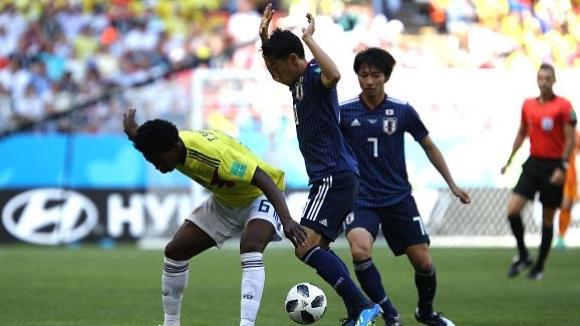 """""""Самураите"""" от Япония изненадаха Колумбия"""