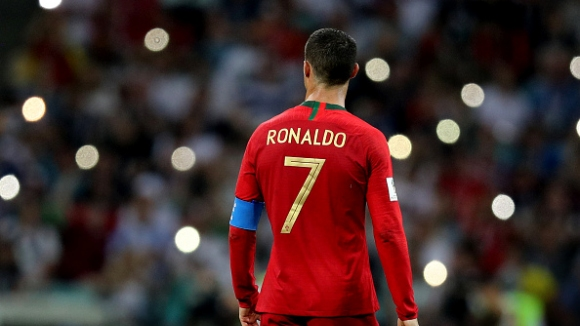 Роналдо в атака