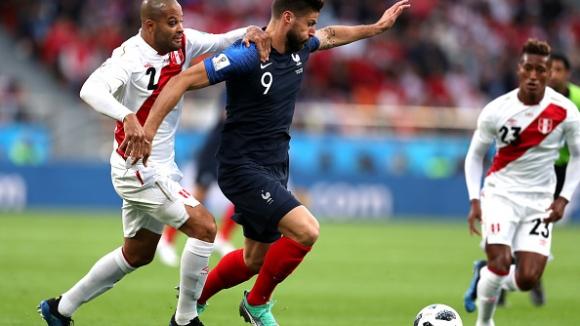 Франция на осминафинал след минимален успех над Перу