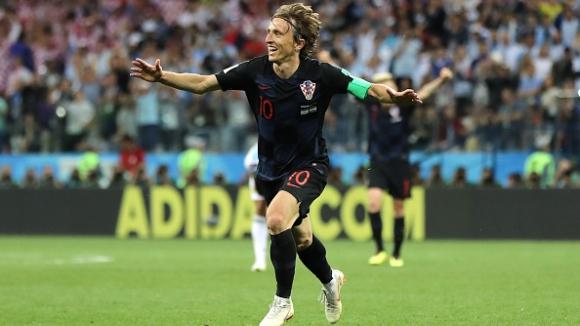 Брилянтен гол на Модрич прекърши аржентинците