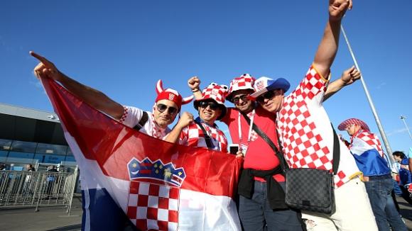 Хърватските фенове с мощен купон в Загреб