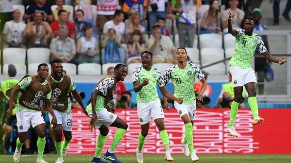Два гола на Ахмед Муса донесоха победата на Нигерия срещу Исландия