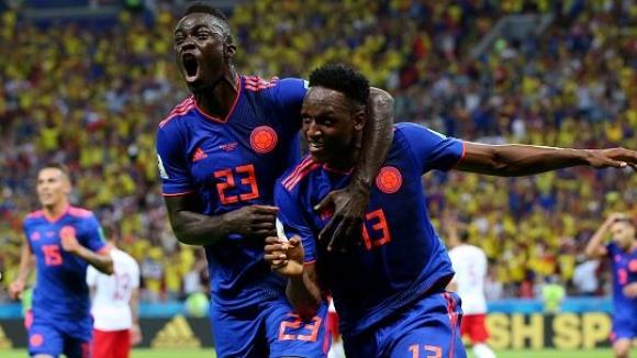 Колумбия изхвърли Полша от Световното първенство