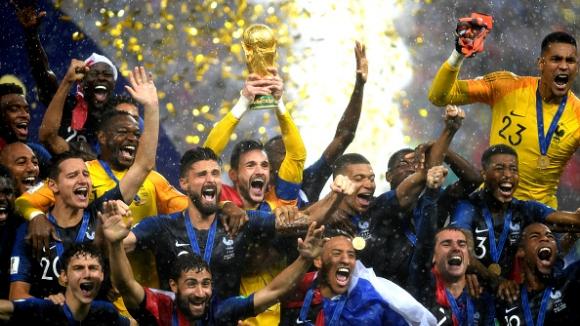 Световната титла е в ръцете на Франция за втори път в историята