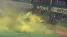 Жълта димка прекъсна мача в Коматево