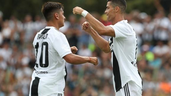 Ювентус громи, Роналдо с дебютен гол