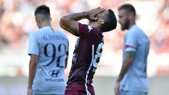 Рома започна с трудна победа в Торино