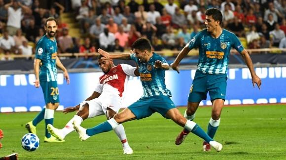 Атлетико Мадрид с пълен обрат срещу Монако във Франция