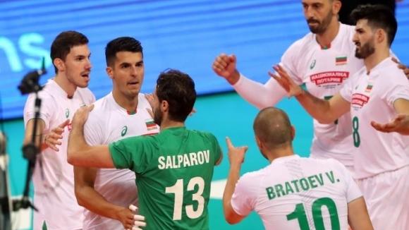 България спечели първия гейм срещу Иран