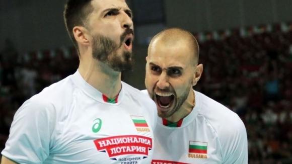 България избухна и победи Иран с 3:0