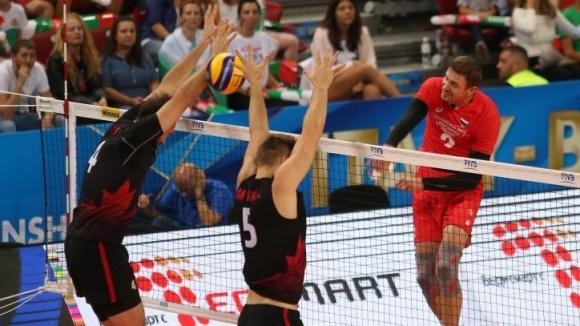 България завърши участието си на Световното първенство със загуба от Канада с 2:3