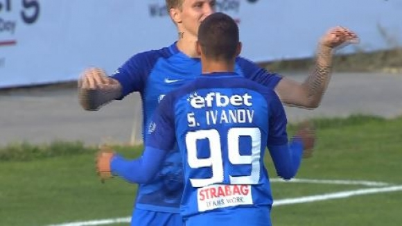 Станислав Иванов с втори гол за Левски