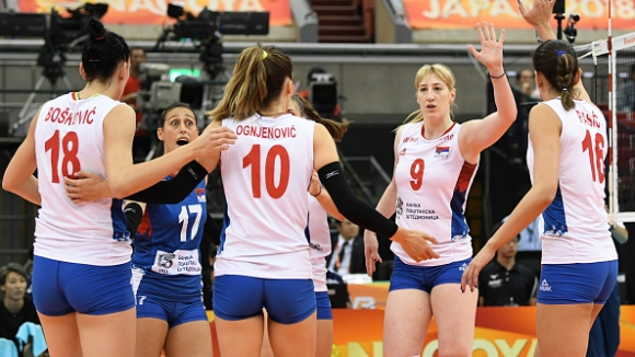 Сърбия не даде гейм на домакините от Япония на Световното по волейбол за жени