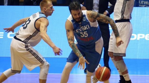 Левски Лукойл стартира с успех в групита на ФИБА Къп