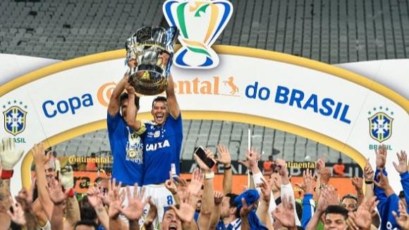 Крузейро триумфира с Купата на Бразилия