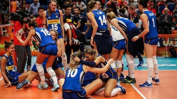 Паола Егону поведе Италия към финала на Световното по волейбол за жени