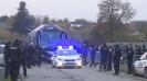 Сините играчи пристигнаха под аплодисменти на стадиона в Разград