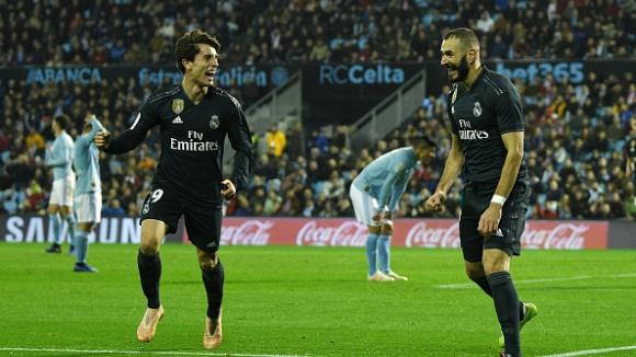 Реал Мадрид на Солари лети, Бензема се въплъти в ролята на голов лидер