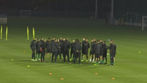 Евтимов и Костов с първа тренировка в националния отбор