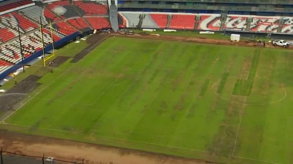 """Лошото състояние на """"Ацтека"""" промени плановете на на НФЛ"""