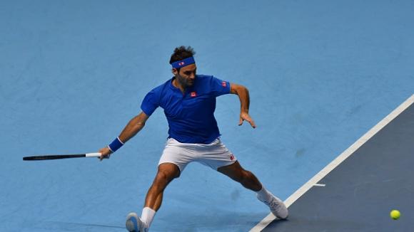 Федерер се класира за полуфиналите в Лондон