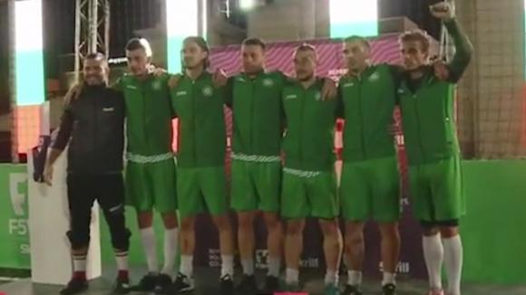 България е световен вицешампион по футбол 5