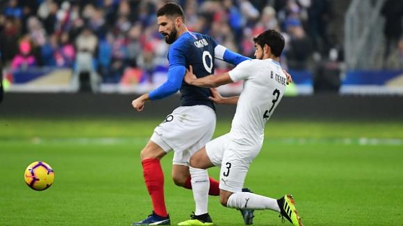 Франция - Уругвай 1:0