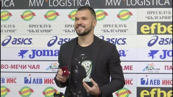 Божинов е №1 за месец ноември в Първа лига