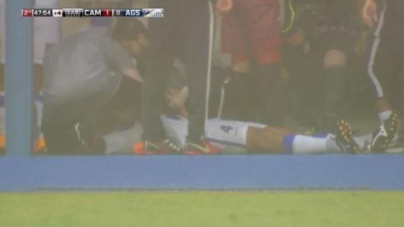 Мълния порази футболист в Бразилия