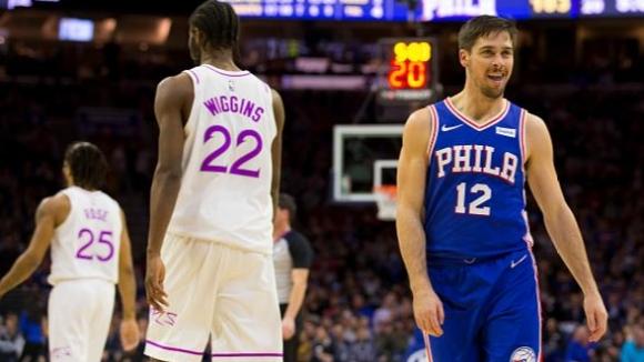 Разгромен успех за Филаделфия над Минесота в НБА