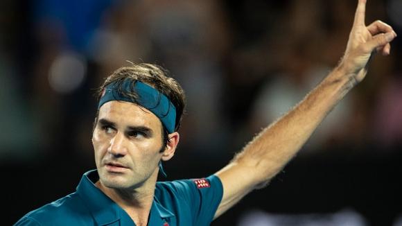 Федерер продължава напред в Australian Open след чиста победа над Фриц