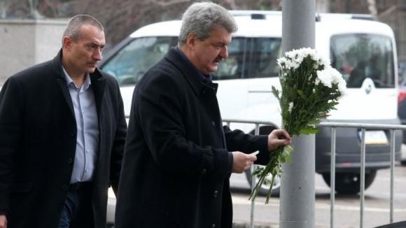 Тодор Батков: Позволявам си да поднеса съболезнования от името на Левски