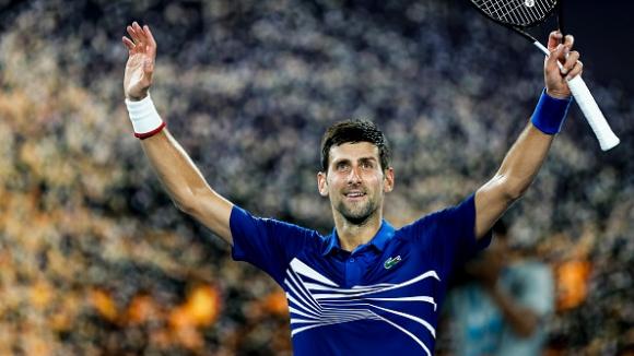 Джокович отново на 1/4 финал в Мелбърн след победа в четири сета над Медведев