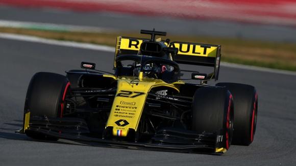 Хюлкенберг с най-добро време в последния ден от тестовете на Ф1 в Барселона