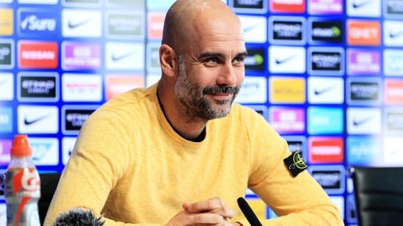 Гуардиола подкрепи Сари преди финала за Купата на лигата в Англия