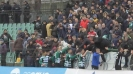Феновете на Черно море поздравиха своите след победата над ЦСКА-София