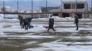 Усилено чистене на снега преди Царско село - Несебър