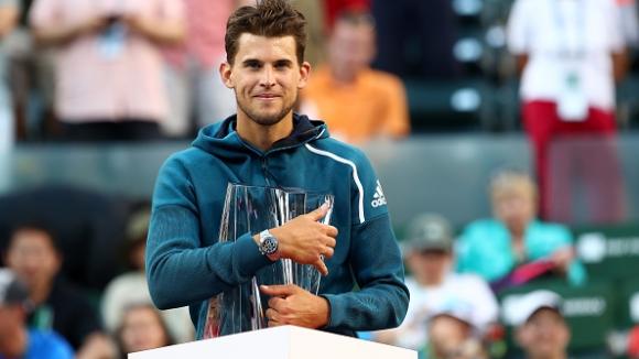 Тийм победи Федерер и грабна титлата от Индиън Уелс