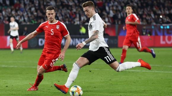 Германия -Сърбия 1:1