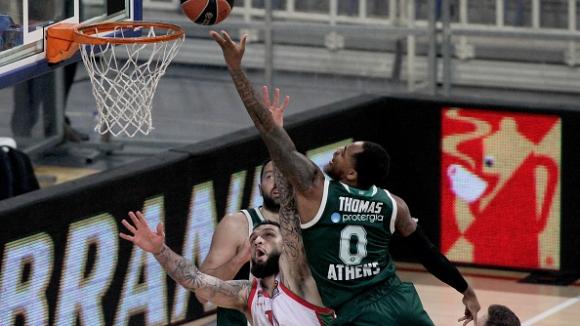 Трудна победа над Баскония приближи Панатинайкос до плейoфите в Евролигата
