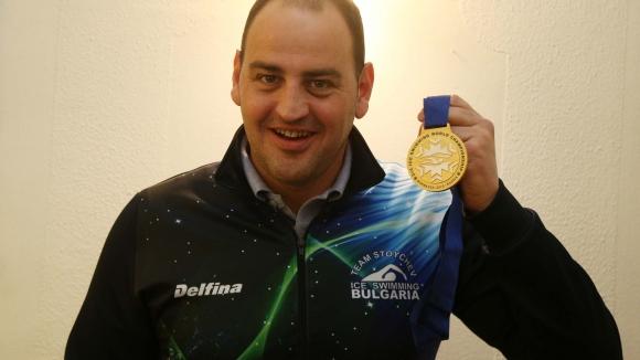 Петър Стойчев се завърна след титлата в Русия