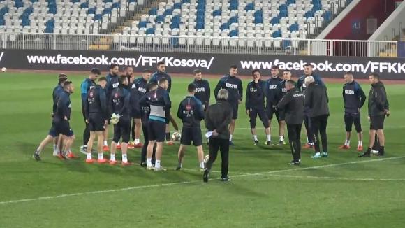 Сериозен интерес към тренировката на Косово в Прищина
