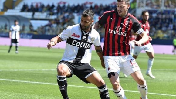 Милан изпусна победата в гостуването си на Парма