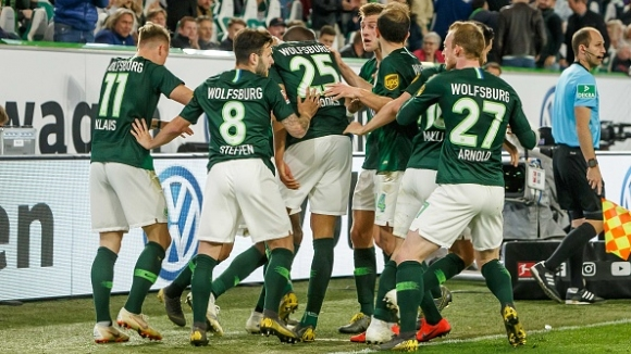 Гол в последната минута спаси Волфсбург срещу Айнтрахт