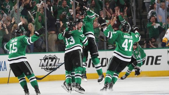 Далас елиминира Нешвил в NHL