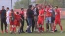 Радост на терена след класирането на Царско село за Първа лига